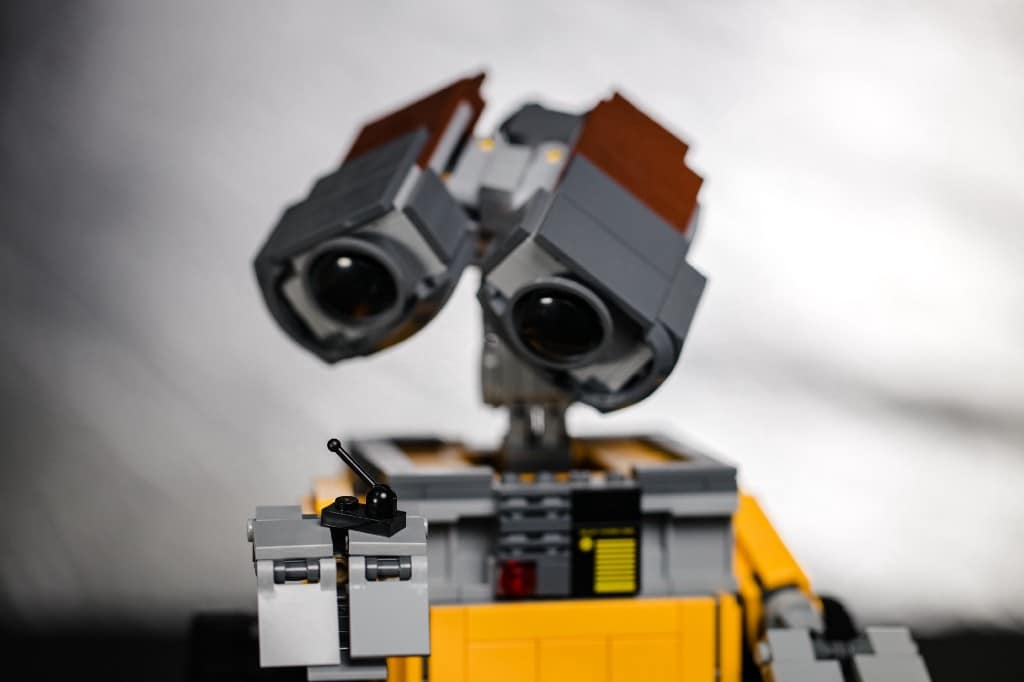 A real life wall-e robot